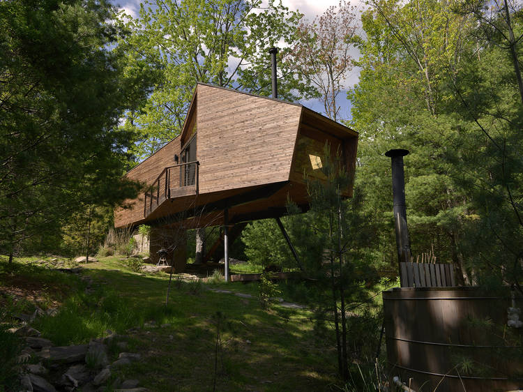 Treehouse cabin in Willow, NY
