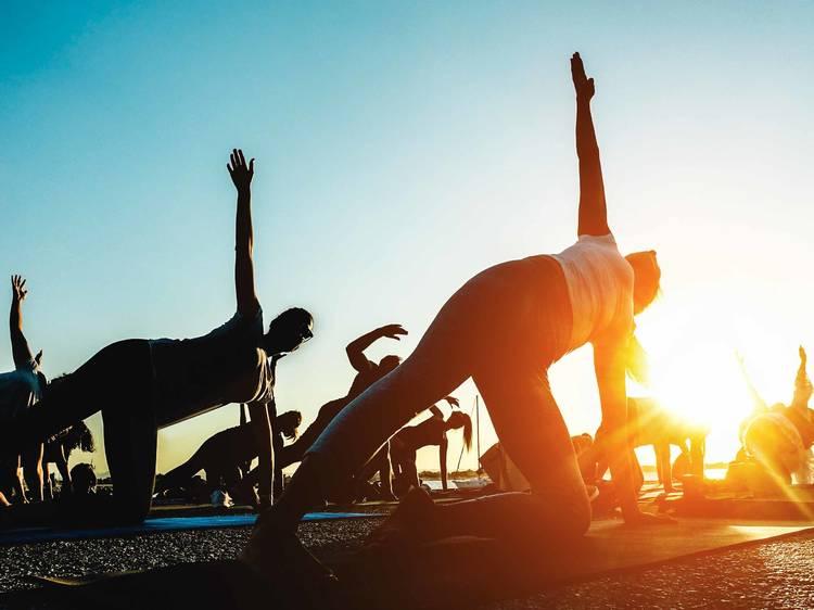 Millennium Park Summer Workouts
