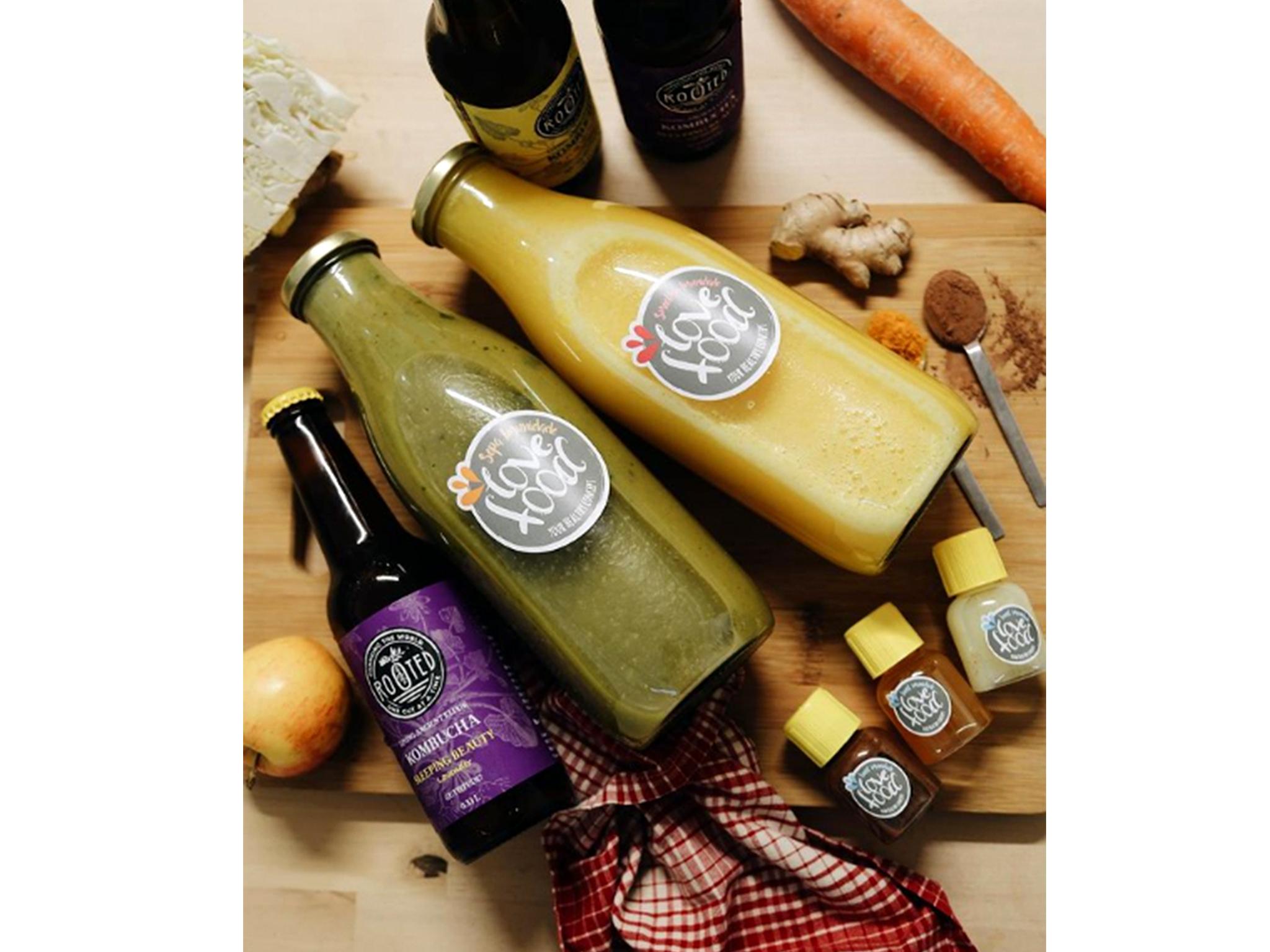 Eat Love Healthy Concept, Cozinha Saudável, Kit Imunidade