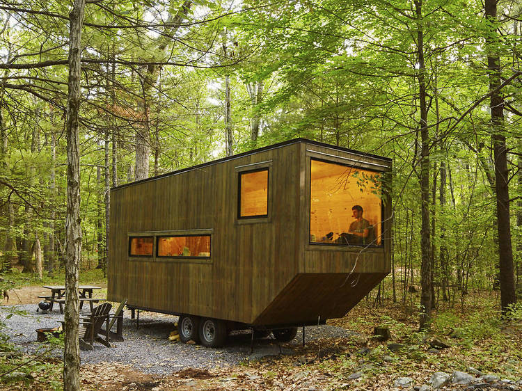 Rent a tiny house to unplug from technology