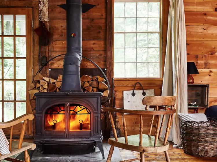 Take a mental health break by renting a cozy cabin