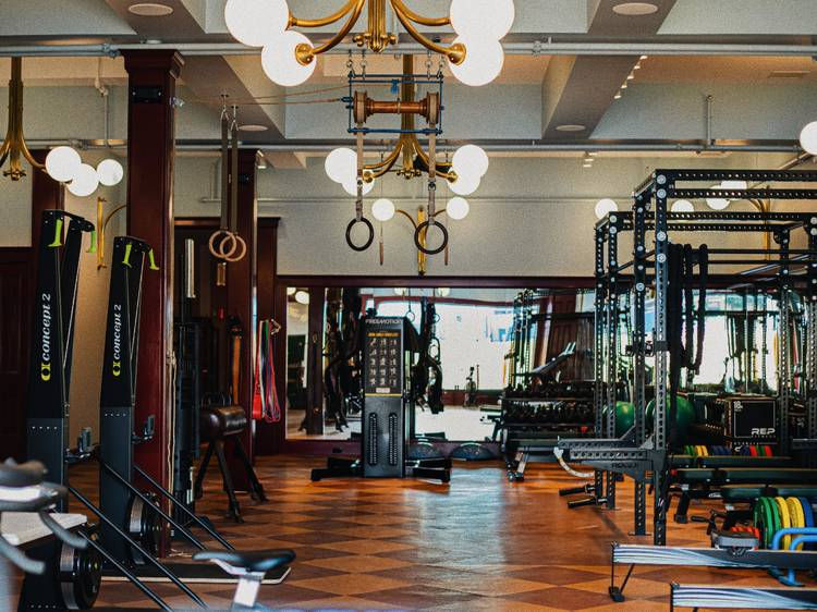 Get active at a Moulin Rouge-themed gym in Hudson