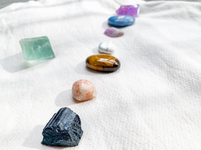 maha rose crystals