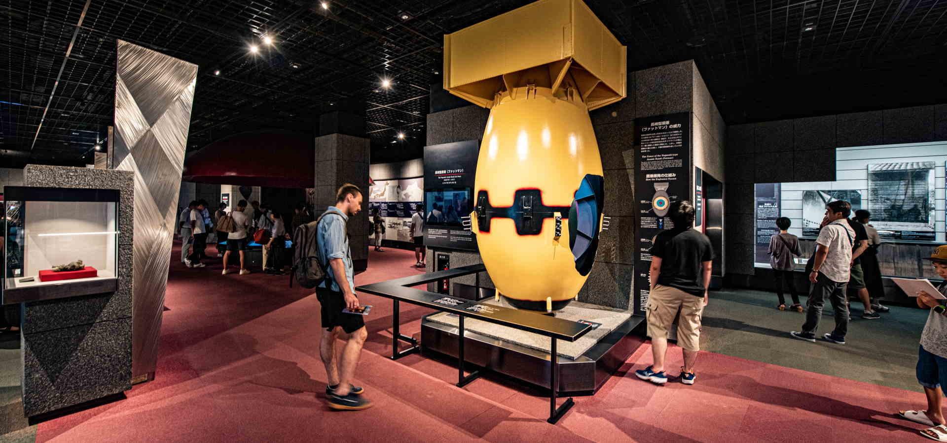 長崎原爆資料館展示