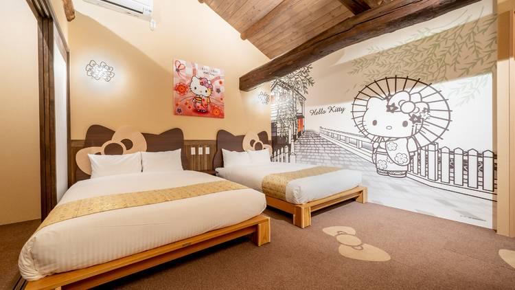 Resi Stay Hello Kitty Room Kyoto