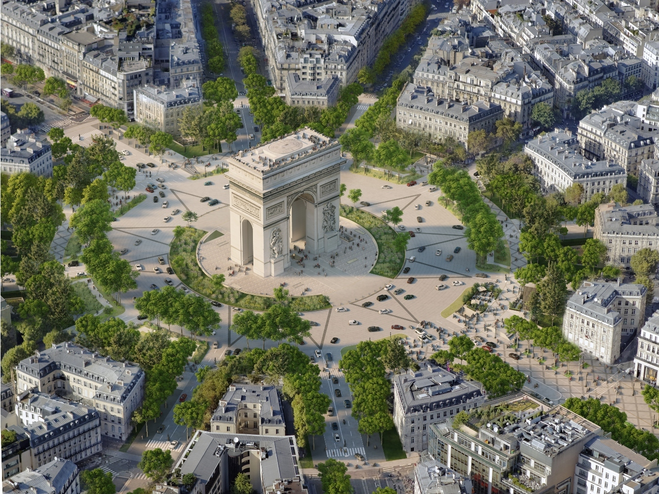 Paris's most famous street is becoming a huge urban garden