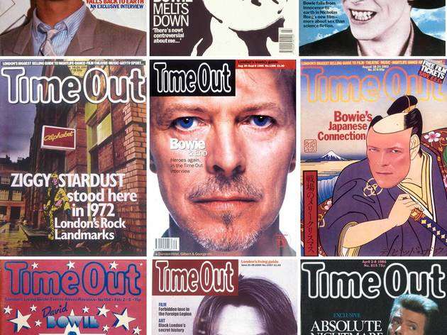 13 anecdotes géniales que David Bowie a confié au magazine Time Out