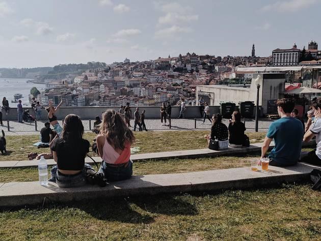 Jardim do Morro em Vila Nova de Gaia