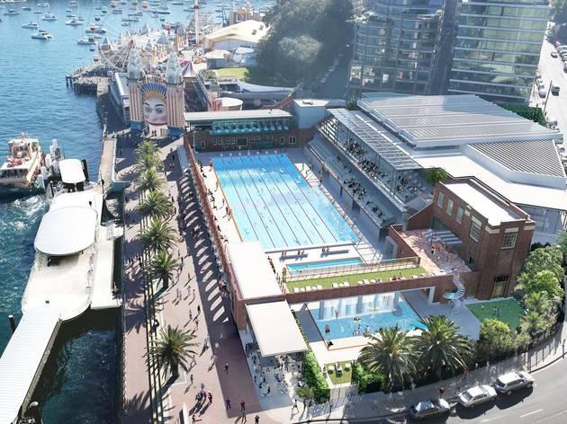 North Sydney Pool's proposed refurbishment