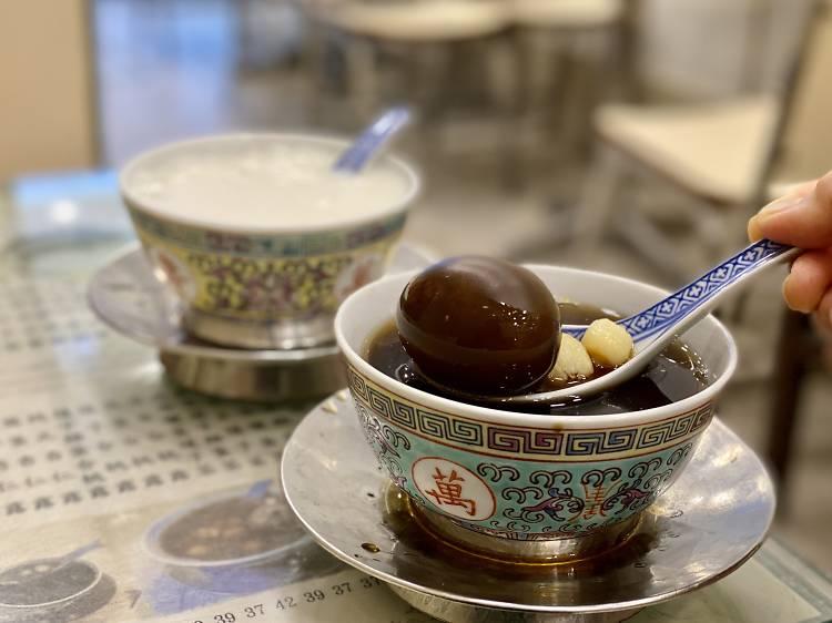 源記甜品專家:桑寄生雞蛋茶$35