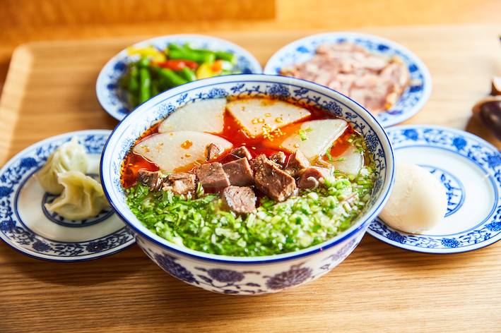 蘭州牛肉麺を極める「ザムザムの泉」が広尾に移転