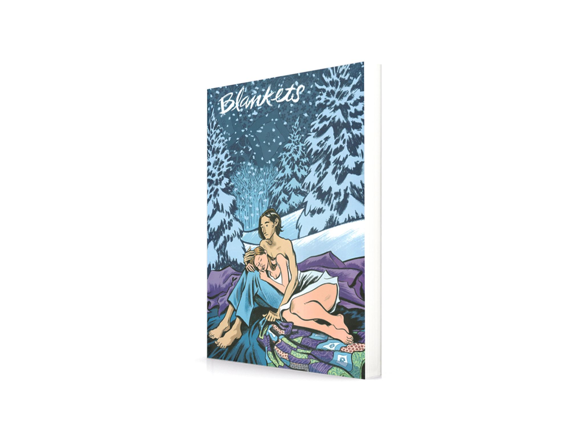 Livros, Romance, Blankets, Craig Thomson