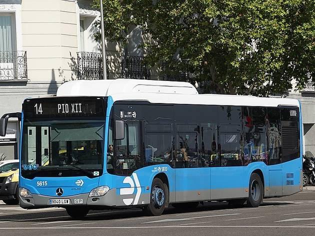 Estas son las líneas de autobuses de la EMT que ya prestan servicio