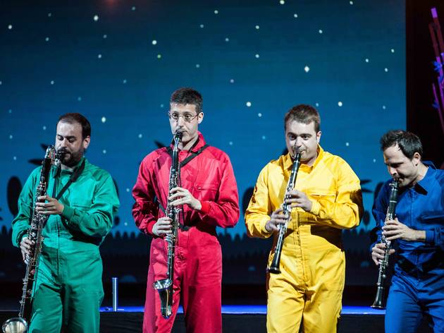 "Concert ""Planeta Clarinet"", Auditori de Barcelona"