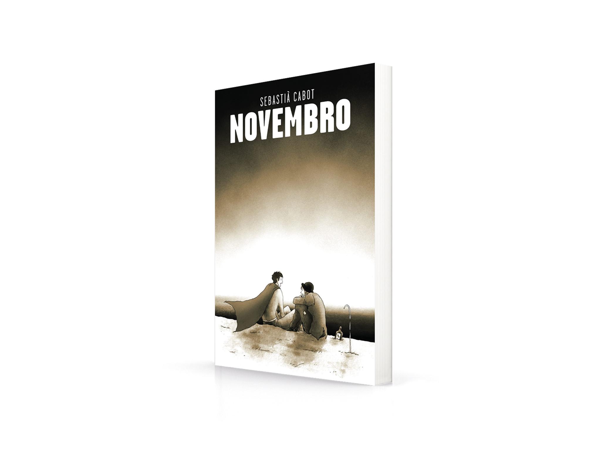Livro, Romance, Novembro, Sebastià Cabot