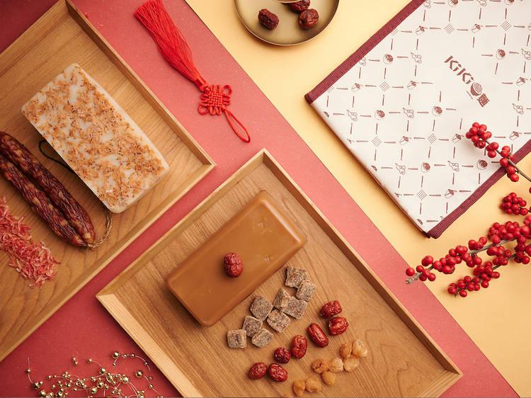 KiKi 麵店:台灣櫻花蝦蘿蔔糕