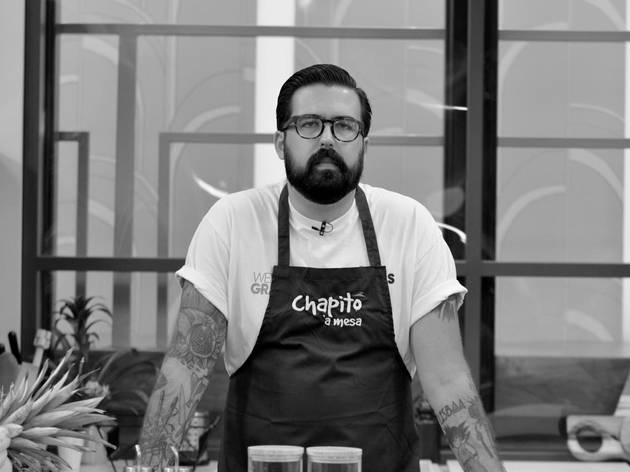 Chef, Pedro Abril, Chapitô à Mesa
