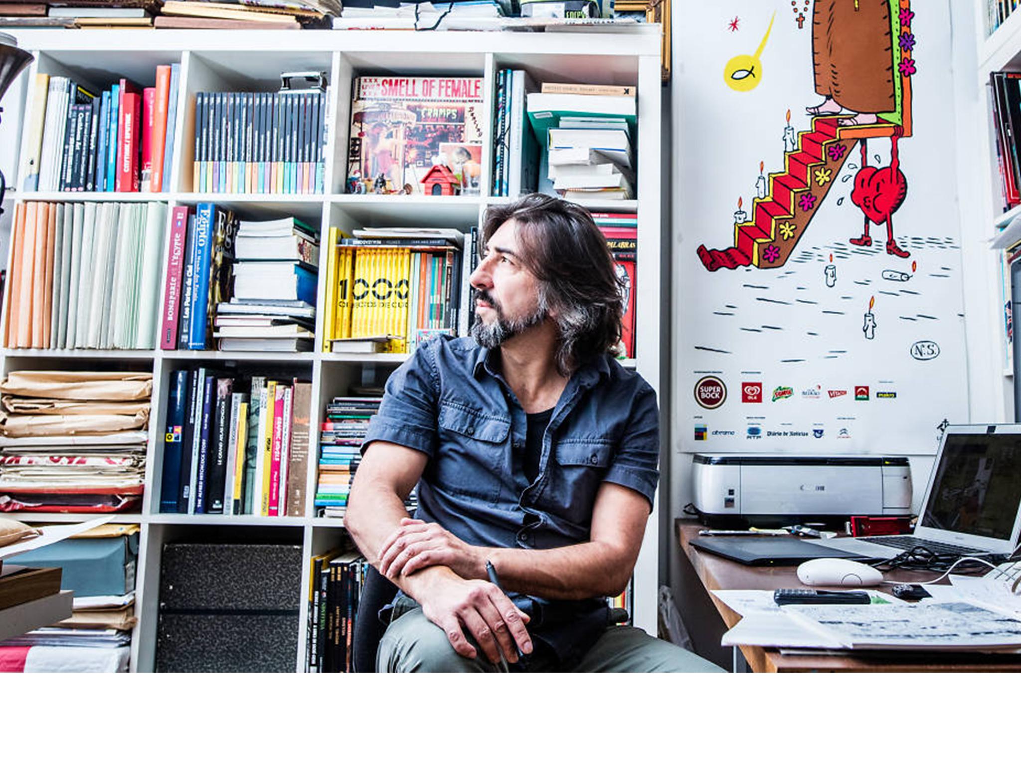 Ilustrador, Nuno Saraiva