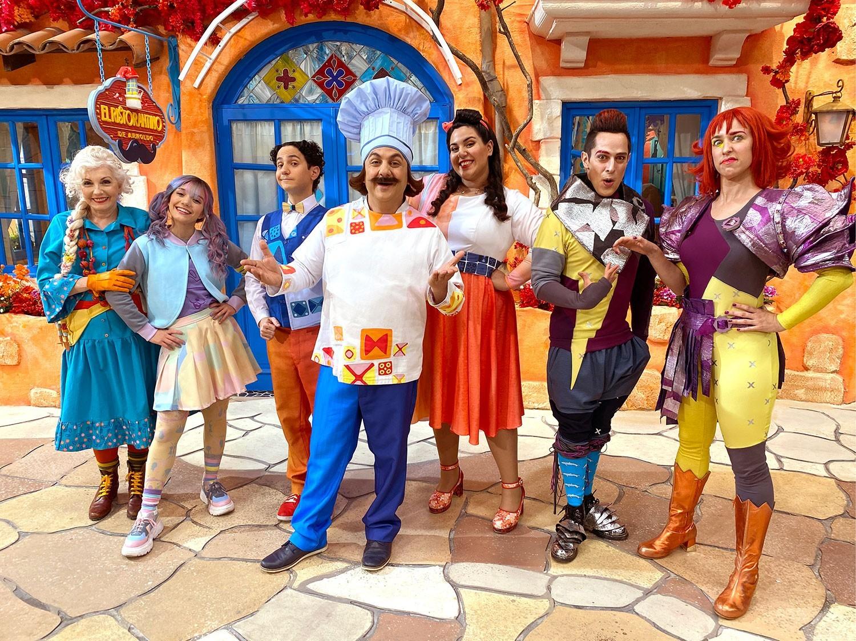 Diego Topa desembarca en Disney+ con la serie El Ristorantino de Arnoldo