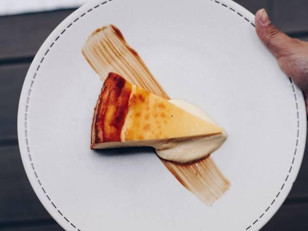 Tarta de queso de La Maruca