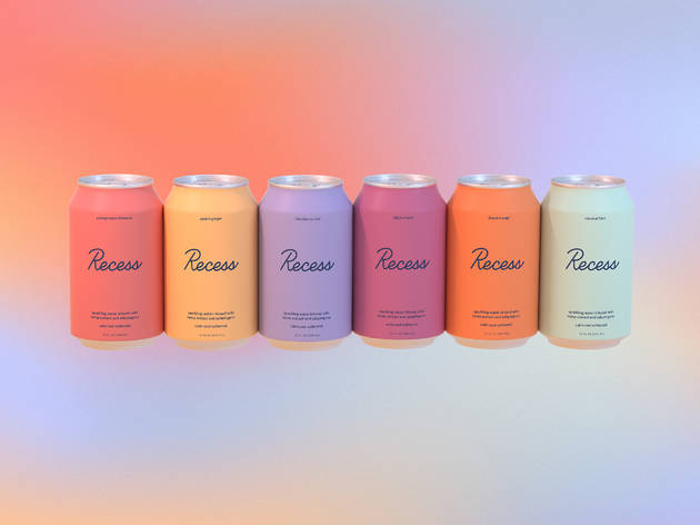 Recess sparkling water