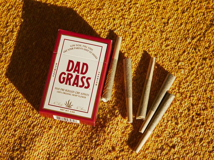 Hemp CBD preroll, Dad Grass ($35 for 5)