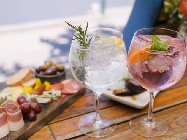 Gin and tapas at Pilgrim