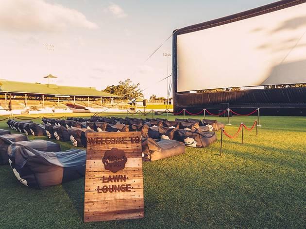 Sunset Cinema Lawn Lounge