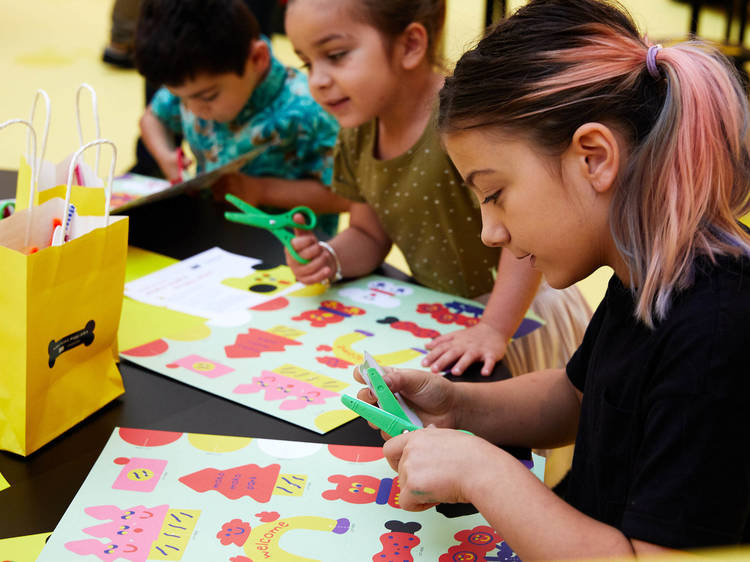 Check out these free kids activities from the NGV