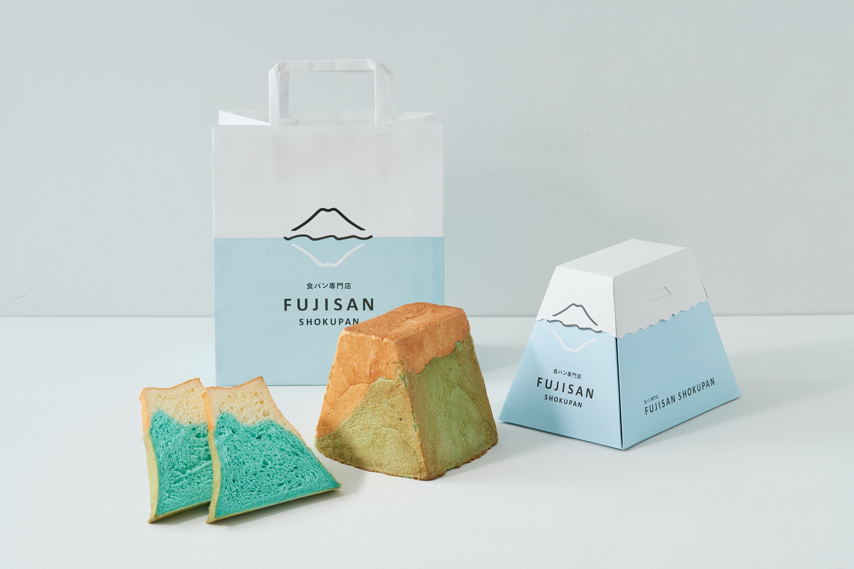 富士山の形をしたインパクト大な食パン、1月末まで送料半額を実施
