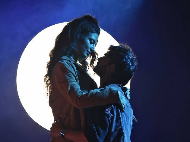 Mimi and Roger in Rent at Sydney Opera House
