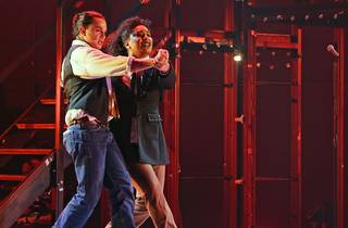Mark and Joanna in Rent at Sydney Opera House