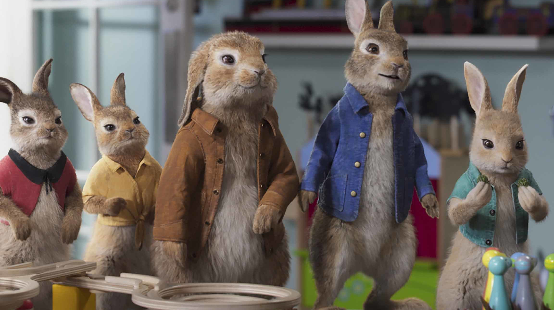 La secuela de Peter Rabbit saldrá en 2021