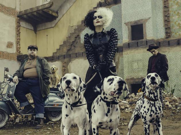 El action-live de Cruella de Vil se estrena este año con Emma Stone como protagonista