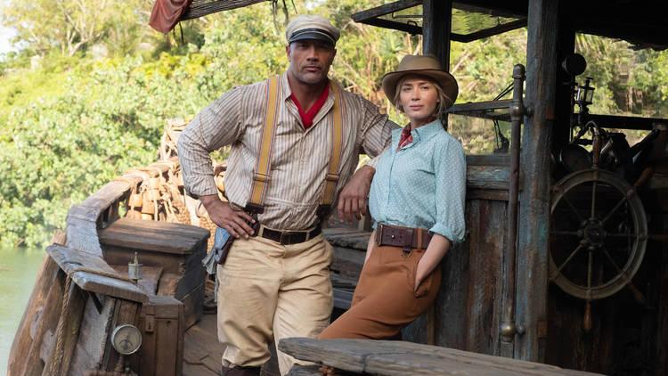 La roca y Emily Blunt protagonistas esta película de aventura Jungle Cruise