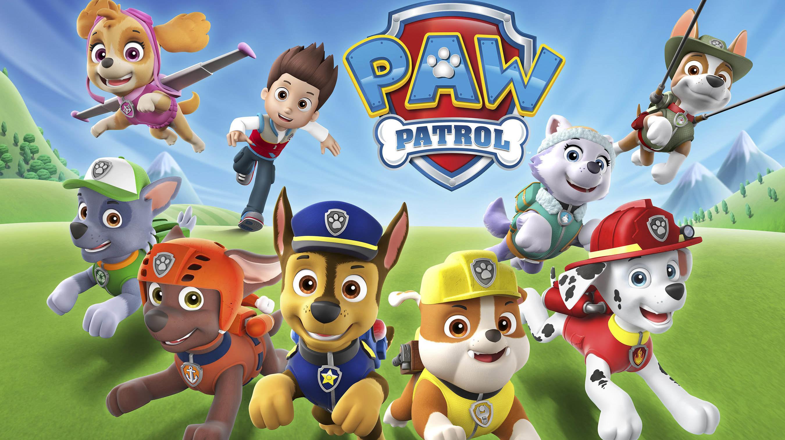 La serie Paw Patrol pasa a película con aventuras nuevas para los niños