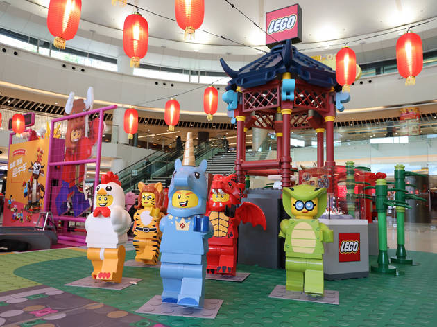 New Town Plaza x Lego CNY decor
