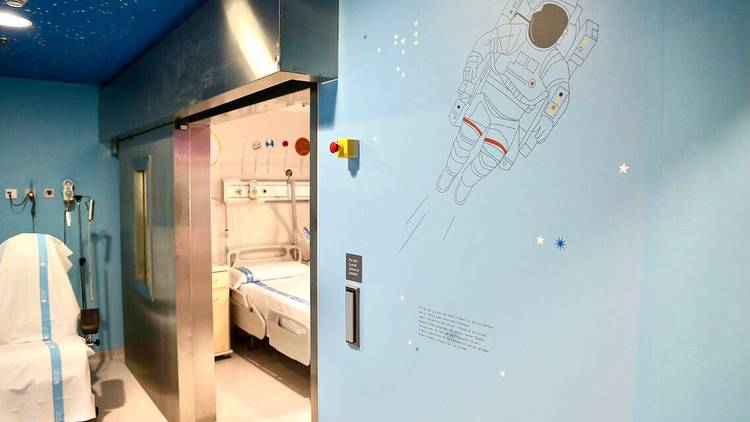 Es crea una 'Estació Lunar' a l'Hospital de la Vall d'Hebron pels nens amb càncer