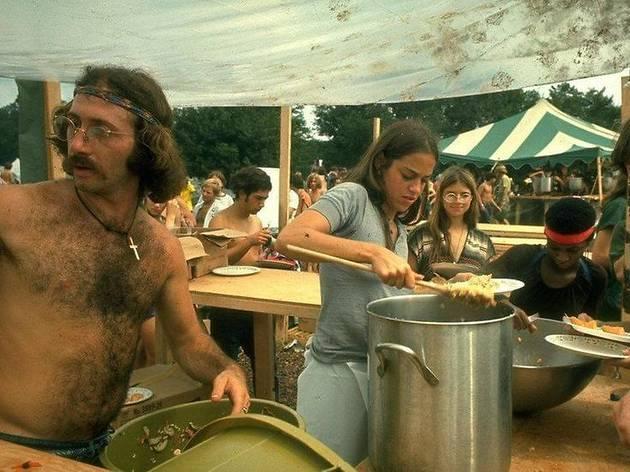 Manger à… Woodstock en 1969