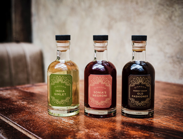 dishoom's bottled cocktail range