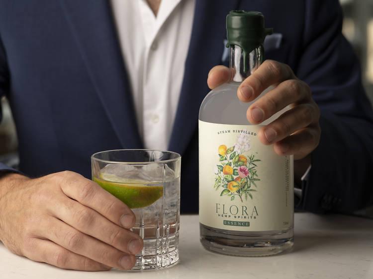Non-alcoholic hemp spirit, Flora ($40)