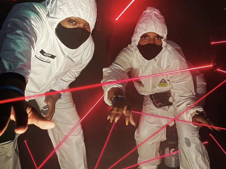 Beat The Bomb in Hazmat Suits