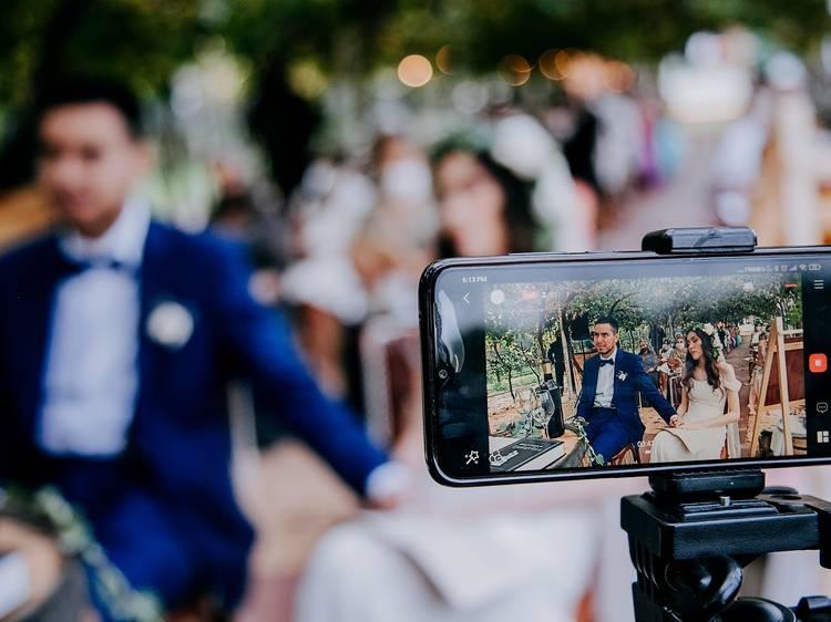 ¿El año de las e-weddings?