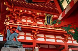 Japanese temple details