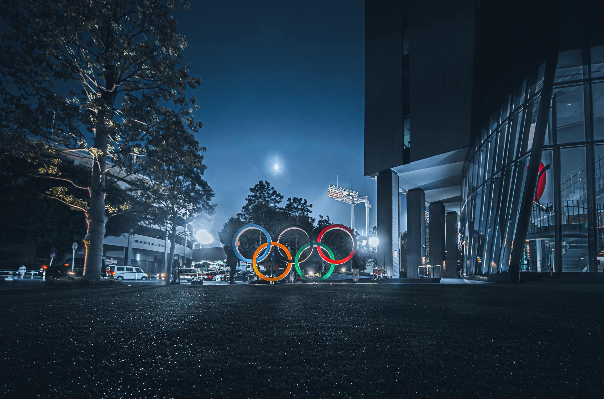 Tokyo 2020 Olympic, Olympic rings