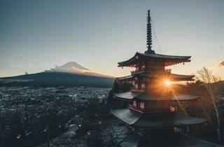 Mt Fuji – stock photo