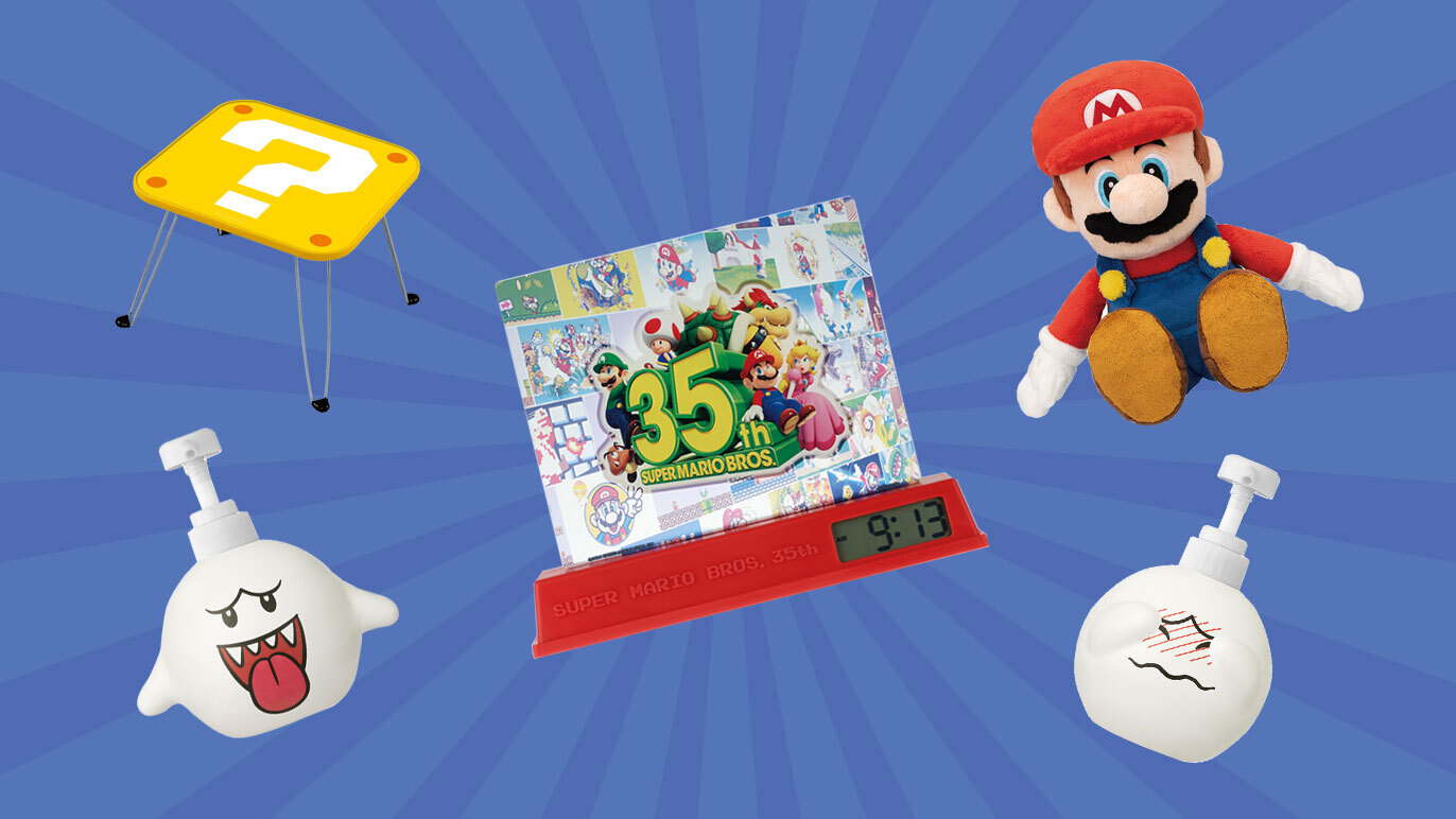 7-Eleven Japan is giving out Super Mario merch via a lottery