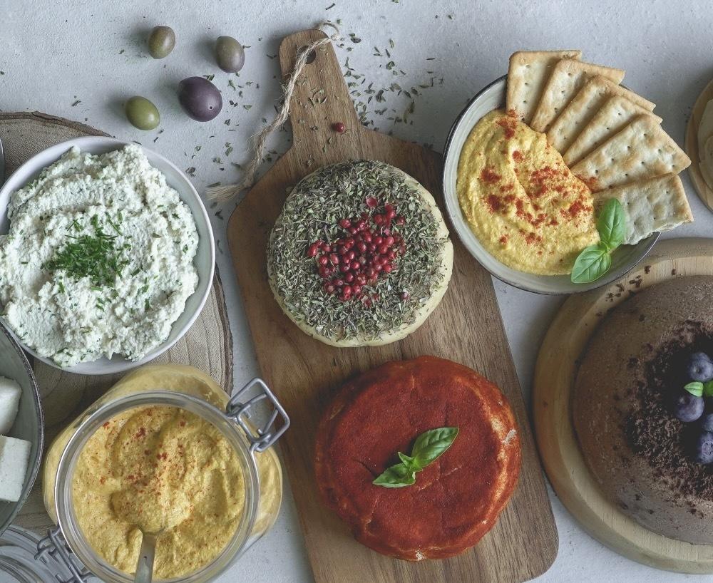 Workshop de queijos vegan fermentados