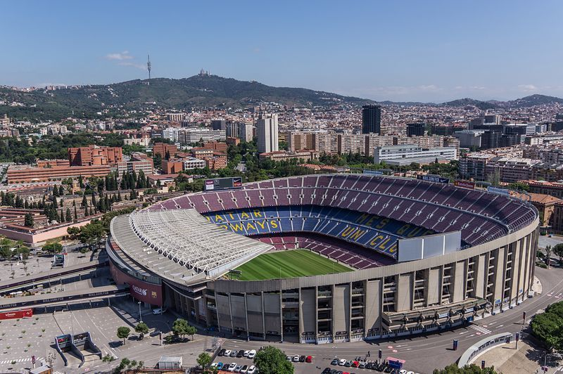 Camp Nou de Barcelona