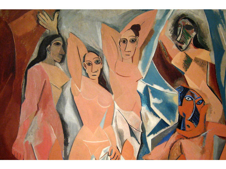 Pablo Picasso, Las señoritas de Avignon, 1907